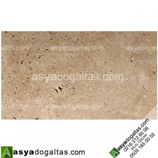 Cilalı 1.2 x 20.3 x 40.6cm Denizli Traverten Fayans - AT1259