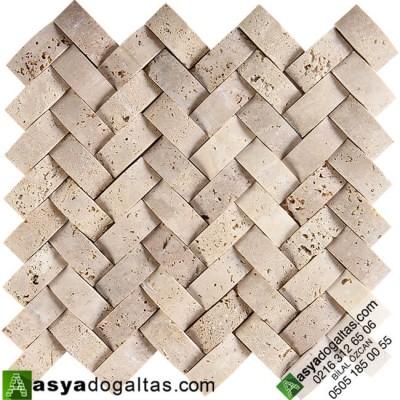 Sepet Doğaltaş Hasır Mozaik – AT1197