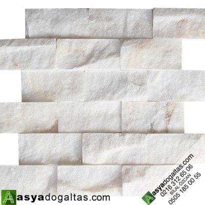 5×10 Beyaz Patlatma Mermer - AT1174